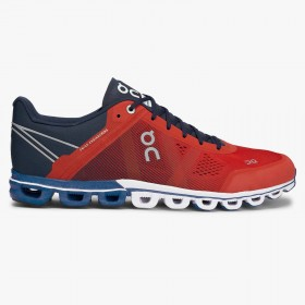 Mens ON Running Cloudflow Trainers in Orange/Blue £120 NOW £90