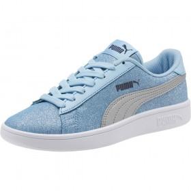 Kids Puma Smash V2 Glitz Glam in Blue/Silver £39.99 Now £25