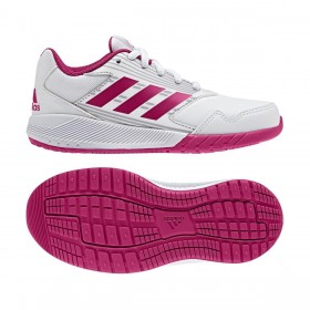 Kids Adidas AltaRun Trainers in White/Pink  £24.99 NOW £15