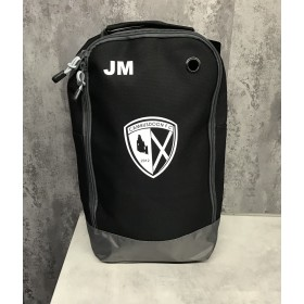 Cambusdoon FC Black Boot Bag with Badge