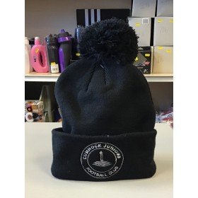 Cumnock Juniors Black Bobble Hat