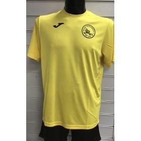 Troon Tortoises Joma Yellow Short Sleeve T-shirt