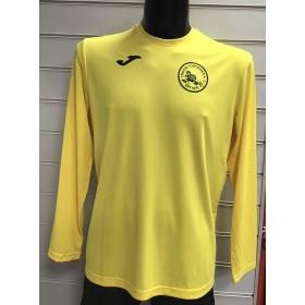 Troon Tortoises Joma Yellow Long Sleeve T-shirt