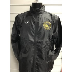 Troon Tortoises Joma Black Rain Jacket