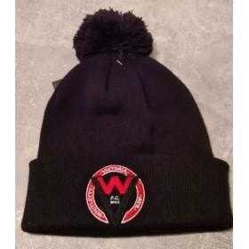 Whitlett's Victoria Black Pom Pom Hat