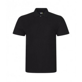 Whitlett's Victoria Black Polo Shirt with Badge