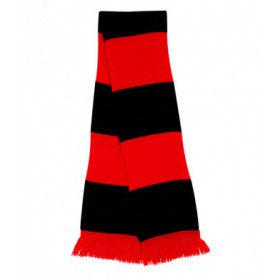 Whitlett's Victoria Black and Red Scarf