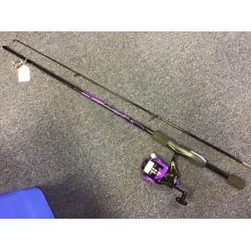 Mitchell Junior Rod Reel Line Set Purple