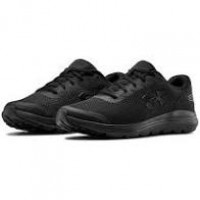 Under Armour Surge 2 Kids Black Trainers