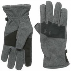 Under Armour Light Grey Adult Coldgear Gloves
