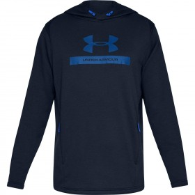 Under Armour Navy Blue Coldgear Hooded Top