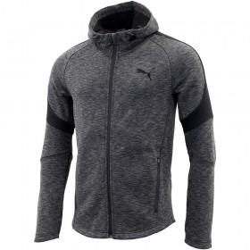Puma Evostripe FZ Mens Grey Hoody