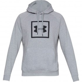 Under Armour Coldgear Grey Hooded Top