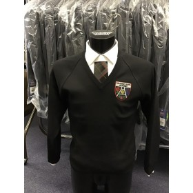 The Robert Burns Academy V Neck Jumper