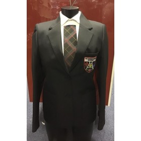 The Robert Burns Academy Girls Fitted Eco Blazer