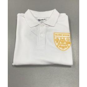 Hillside Primary School White Polo Shirt