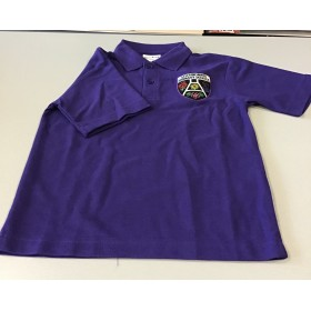 Lochnorris Primary School Purple Polo Shirt