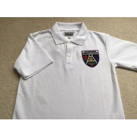 Lochnorris Primary School White Polo Shirt