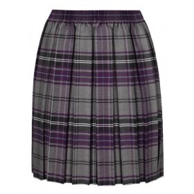 Lochnorris Primary School Purple Tartan Skirt