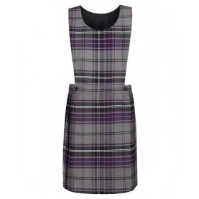 Lochnorris Primary School Purple Tartan Pinafore