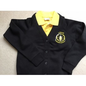 Logan Primary School Sweatshirt Cardigan