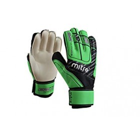 Mitre Green Goal Keeper Gloves