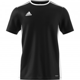 Adidas Entrada 18 Black Kids T-shirt