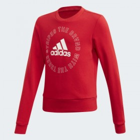 Adidas Girls Bold Crew Sweatshirt