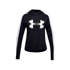 Under Armour Girls Black and White Hoody