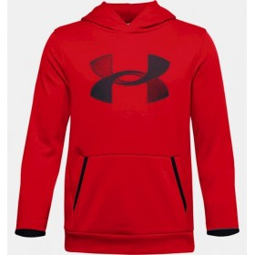 Under Armour Boys Red Hoody