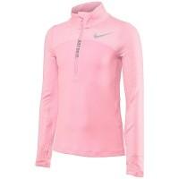 Nike Girls Pink 1/4 zip top