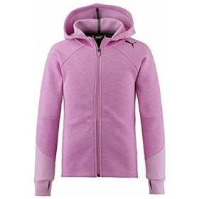 Puma Evostripe Girls Pink Hoody