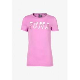 Puma Style Graphic Girls Pink T-shirt