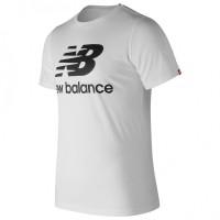 New Balance Essential Logo Ladies White T-shirt