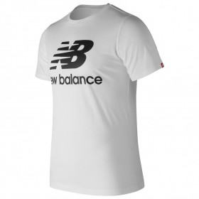 New Balance Essential Logo Ladies White T-shirt