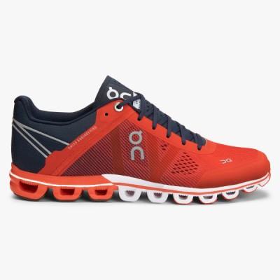 On Running Cloudflow Trainers Crimson/Navy